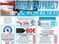 Dépannage de fuite d'eau à Paris 7e