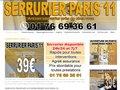 Installation de porte blindée sur Paris 11e