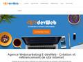 E-devWeb : agence Webmarketing, création et référencement de site internet