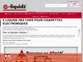 E-liquidz : e-liquide pour cigarette électronique pas cher