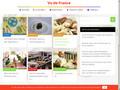 Vu de France : nutrition et recettes saines