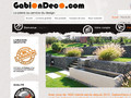 Gabion Deco : vente de gabions pour la décoration des jardins