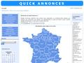 Quick Annonces : petites annonces gratuites sur toute la France