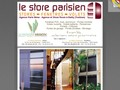 Le Store Parisien : lambrequins lumineux à Paris