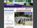 Abris piscine, couvertures, en Languedoc.