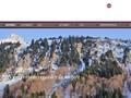 Le Chalet 1864 : location de chambres dans les Alpes