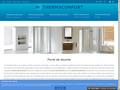 Thermaconfort : portes, paroi et receveur de douche