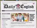 Daily English : apprendre l'anglais en France