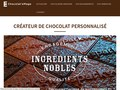 Chocolat'eMage : chocolat personnalisé