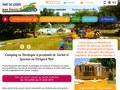 Aux etangs du Bos : camping en Dordogne avec parc aquatique