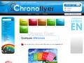 Chrono flyer, imprimerie en ligne