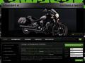 Magasin vendant des motos Kawasaki neuves, Wambrechies et Seclin, Nord 59