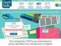 Étiquette Facile : étiquettes personnalisées thermocollantes