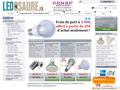 Produits à base de LED parmi des spots, lampes ou encore projecteurs