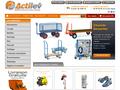 Actilev : outils d'usine, manutention, levage, mobilier, stockage, atex, sécurité, EPI, envirronnemenent, emballage, hygiène et entretien