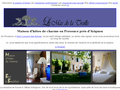 Le Mas de la Treille : chambre d'hôte et maison de charme prés d'Avignon - jacuzzi privé et piscine
