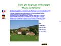 Moulin de la Canne : grand gîte de groupe en Bourgogne - salle de réception - hébergement collectif