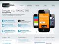 Sms Via Le Web : sms par Internet via émail ou à partir de notre site - envoi immédiat ou différé