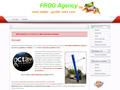 Frog Publicité : spécialiste de la réclame par ballons publicitaire gonflable à l'hélium