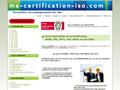 Ma Certification Iso : �tude sur l'infrastructure des soci�t�s pour d�livrer une norme Mase