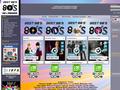 Radio Internet 80s : bouquet de radio internet qui diffuse les meilleures hits des années 80