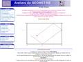 Ateliers de géométrie en 3D et en 2D
