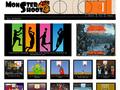 Monster Shoot : jeux en flash de basket gratuits en ligne - mode multi joueurs