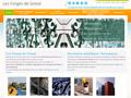 Les Forges de Grieul : entreprise spécialisée dans les travaux de serrurerie, métallerie et portails