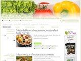 Recettes de Salades : découvrez des centaines de recettes de salades au riz, au blé et aux pates