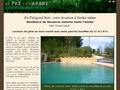 Gîtes Sarlat : location de chalets à Sarlat en Périgord Noir avec internet haut débit et piscine