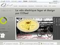 O2Feel : vélos électriques légers Valdo et Selve avec batteries Panasonic aux ions Lithiums