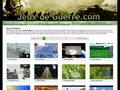 Jeux de Guerre : offre un grand nombre de jeux en ligne spécialement des jeux de guerre - guide