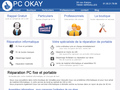 Pc Okay : dépannage PC portable ou fixe en ateliers ou sur place - Paris et environs