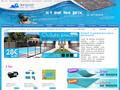 Distripool : spécialiste de la vente de sauna  et d'équipement ou d'accessoires de piscine
