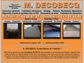 Decobecq Couverture : couvreur professionnel, pose de couverture, nettoyage, charpente et �tanch�it�