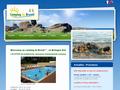 Camping de Brouel : camping avec piscine situé à Ambon en Bretagne Sud - golfe du Morbihan et Damgan