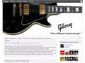 Guitares Gibson : la marque Gibson et ses guitare électrique ou acoustique, ses musiciens