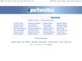 Surfandbiz : annuaire professionnel des entreprises avec indexation par géociblage