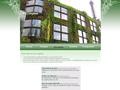 Green Wall : mur végétal ou jardin vertical - décor de végétaux et de plantation debout