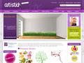 Artistick : adhesifs, autocollants et stickers de décoration pour décorer votre interieur