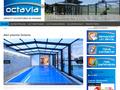 Abri Piscine Octavia : abris de piscine hauts de gamme en fonction de votre piscine et votre budget