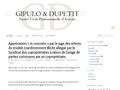 Gipulo et Dupetit : SCP d'avocats à Perpignan vous conseille et vous assiste