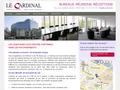 Le Cardinal : nouveau centre d'affaires de qualité au coeur de Paris - bureau équipés et open space