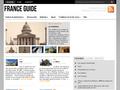Guide France : guide touristique fran�ais et guide de voyage vers la France