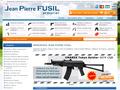 Fusil Calais : armurerie de l'armurier Jean Pierre Fusil - armes d'auto défense, à feu, à poudre, fusil de chasse et coutellerie